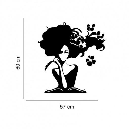 Sticker perete silueta Femeie 3