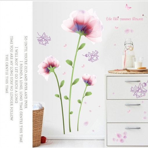 Sticker perete Summer Flowers