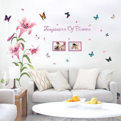 Sticker perete Temptation of Flowers