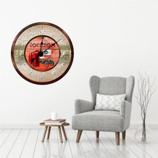 Sticker decorativ ceas London