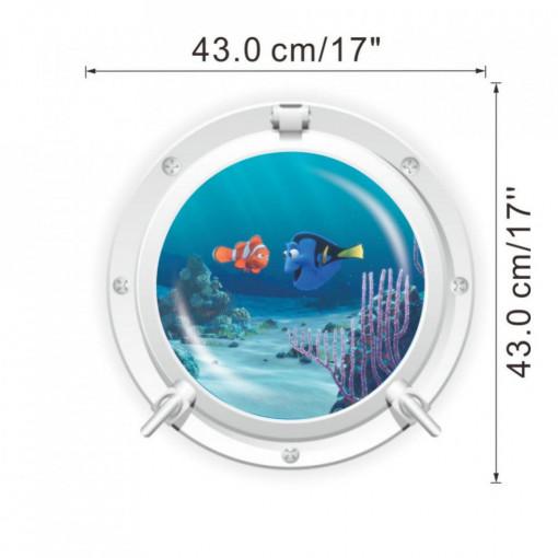 Sticker decorativ Finding Nemo 43 x 43 cm