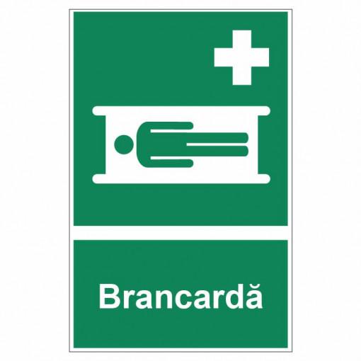 Sticker indicator Brancarda