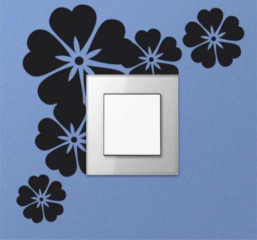 Sticker intrerupator Flori
