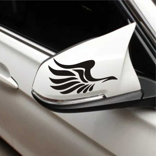 Sticker oglinda auto Fly Free 2 buc/set
