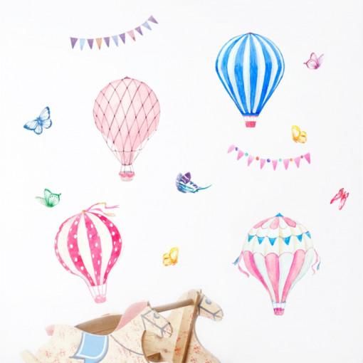Sticker perete Baloane Zburatoare