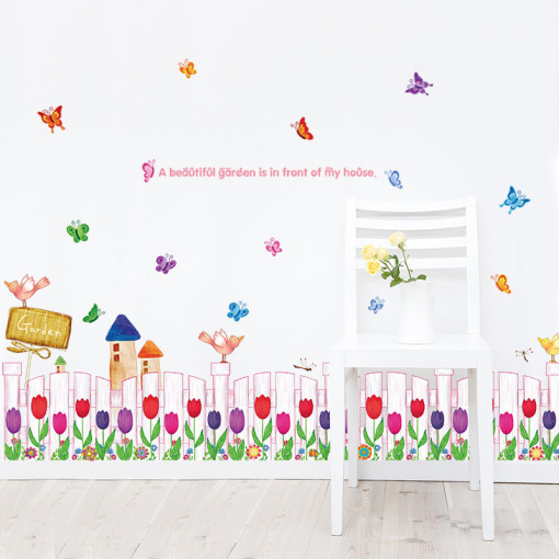 Sticker perete Beautiful Garden
