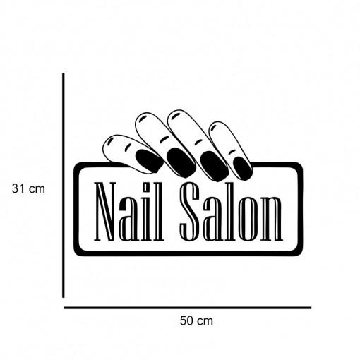Sticker perete Nail Salon 7