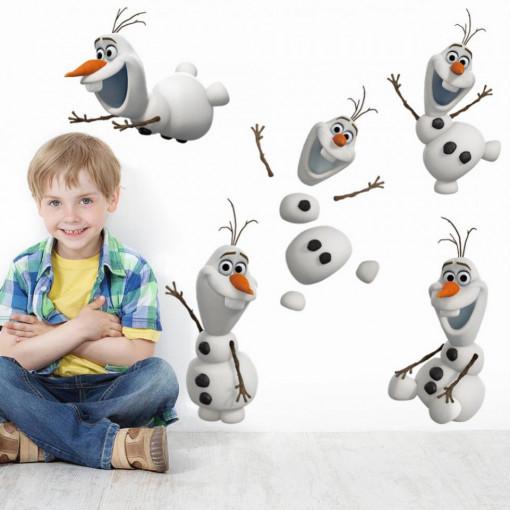 Sticker perete Olaf Frozen 80 x 40 cm