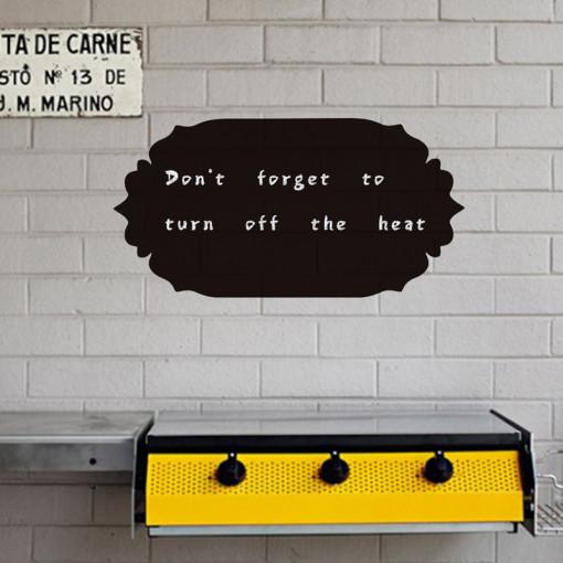 Sticker perete Tabla de scris vintage