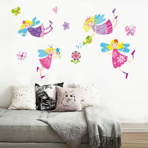 Sticker perete Zane Colorate