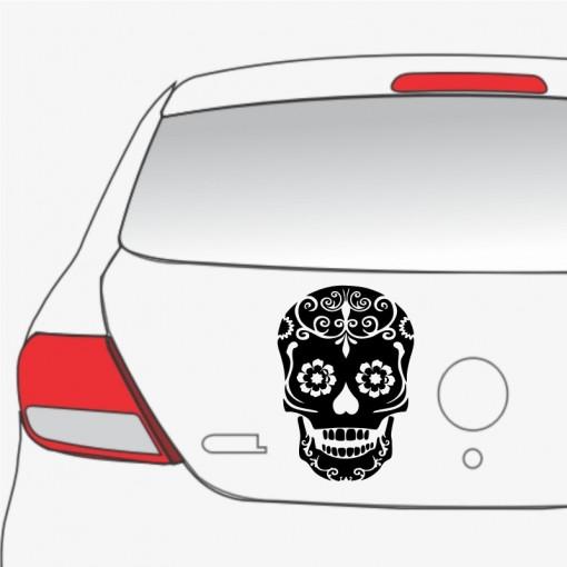 Sticker Auto Skull