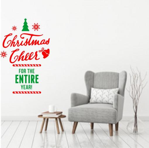 Sticker decorativ Christmas Cheer