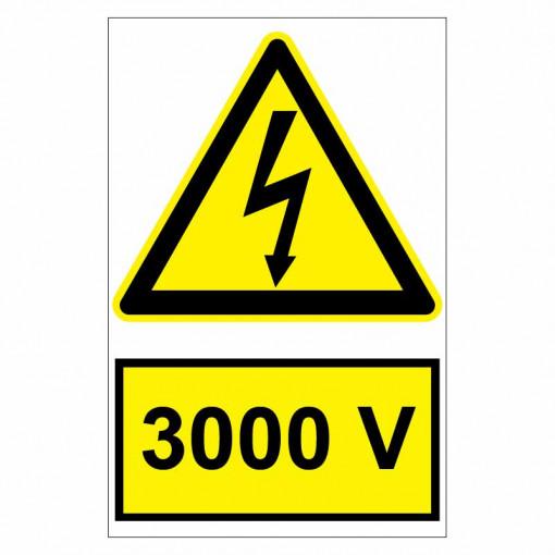 Sticker indicator 3000V