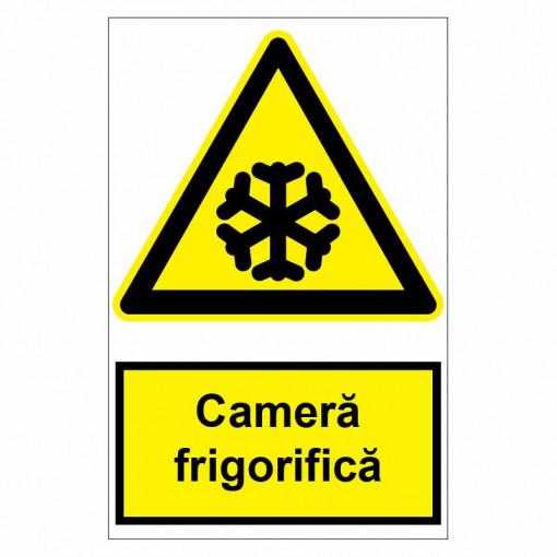 Sticker indicator Camera frigorifica
