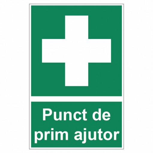 Sticker indicator Punct de prim ajutor