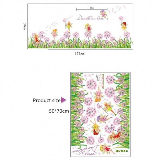 Sticker perete / geam Zana Florilor
