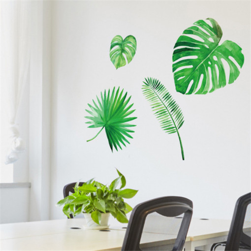 Sticker perete Palm Leaves