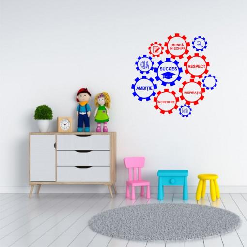 Sticker perete Rotitele Educatiei