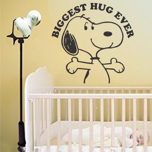 Sticker perete Snoopy - Biggest Hug Ever