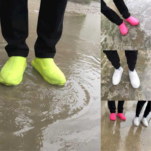 Protectie incaltaminte ploaie Galben M