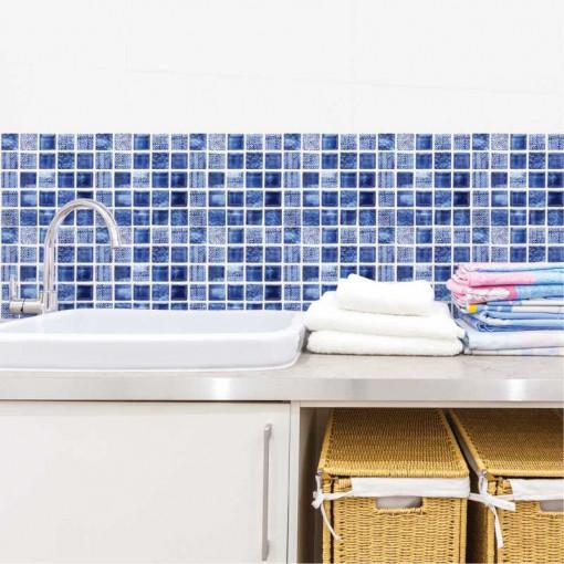 Set stickere decorative faianta Nuante Albastru