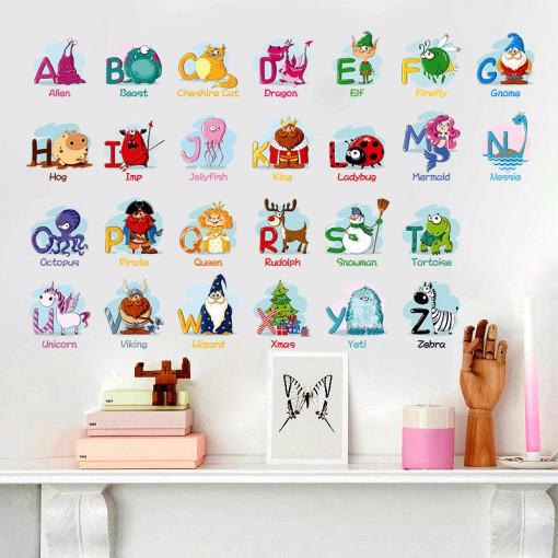 Sticker perete ABC Animals