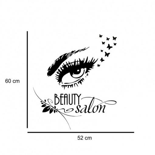 Sticker perete Beauty Salon 4