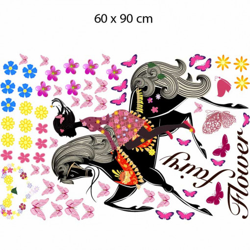 Sticker perete Colourful Ride