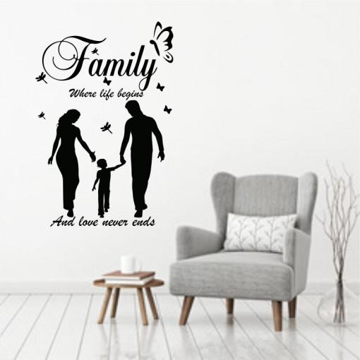Sticker perete Family 1
