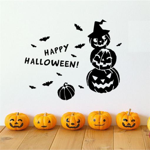 Sticker perete Happy Halloween