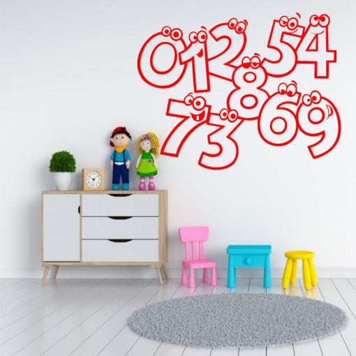 Sticker perete Jocul Cifrelor