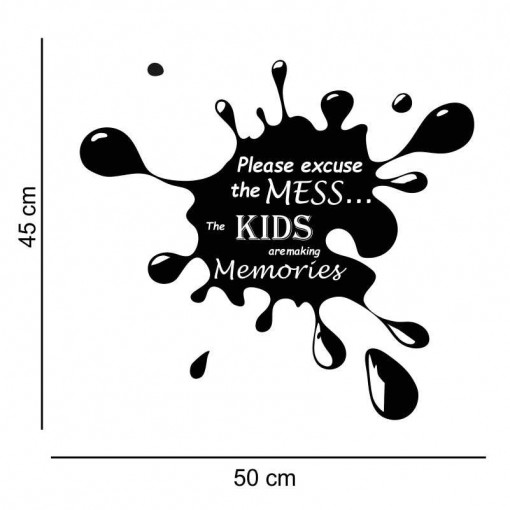Sticker perete Kids are making memories