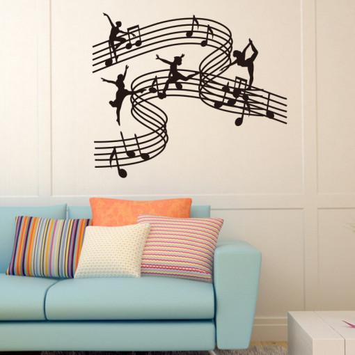 Sticker perete Music and Dance
