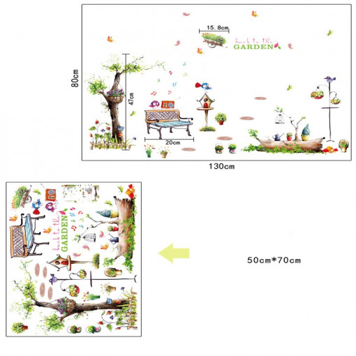 Sticker perete Pastoral Landscape