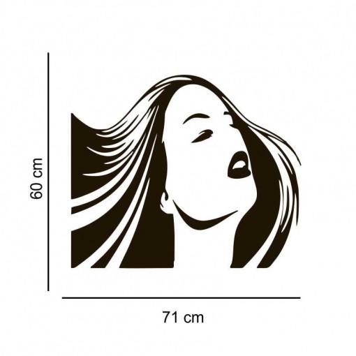 Sticker perete silueta Femeie 1