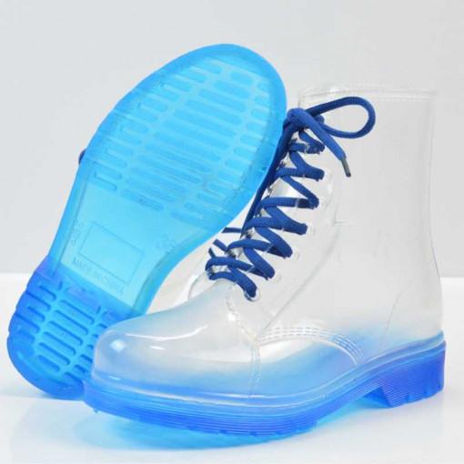 Ghete transparente Albastru 39