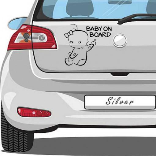 Sticker auto Small Baby on Board