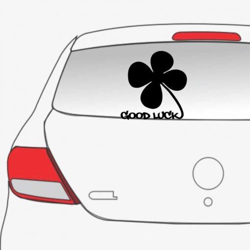 Sticker auto Trifoi