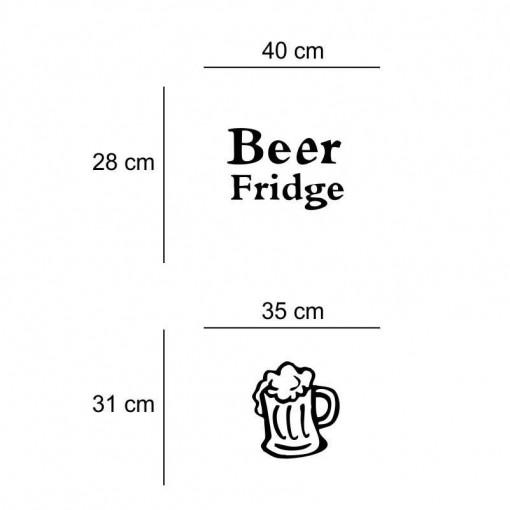 Sticker frigider Beer Fridge