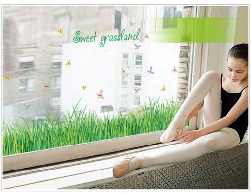 Sticker Iarba perete / geam