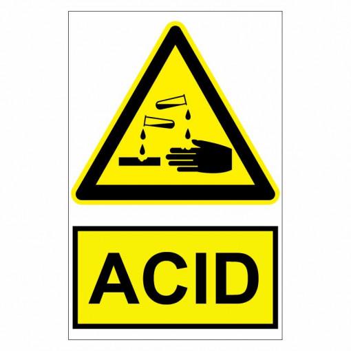 Sticker indicator Acid