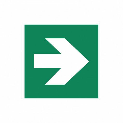 Sticker indicator Sageata de directie unghi de 90˚