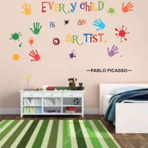 Sticker perete Every Child is an Artist