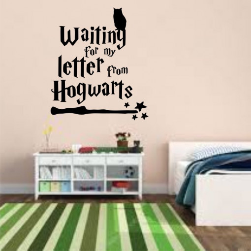 Sticker perete Letter from Hogwarts