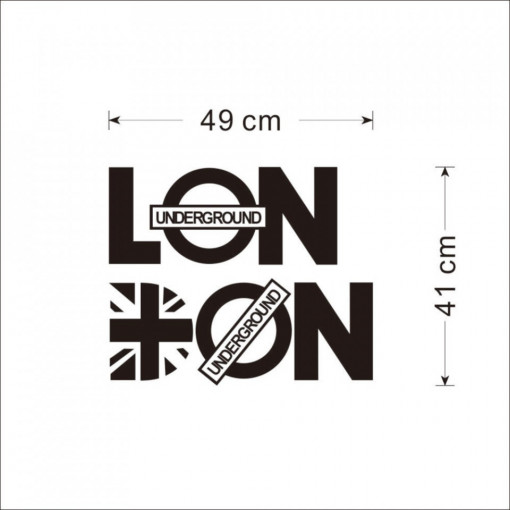 Sticker perete London