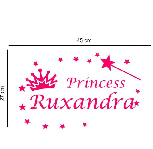 Sticker perete personalizat My Name Girl 7