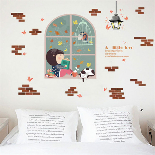 Sticker perete Reading Corner