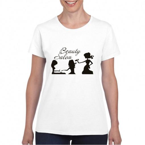 Tricou personalizat dama Beauty Salon
