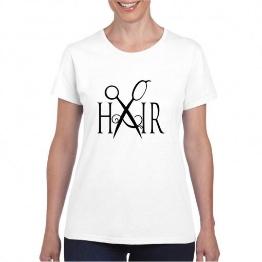 Tricou personalizat dama Coafor 5