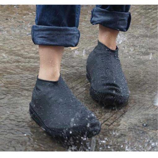 Protectie incaltaminte ploaie Negru S